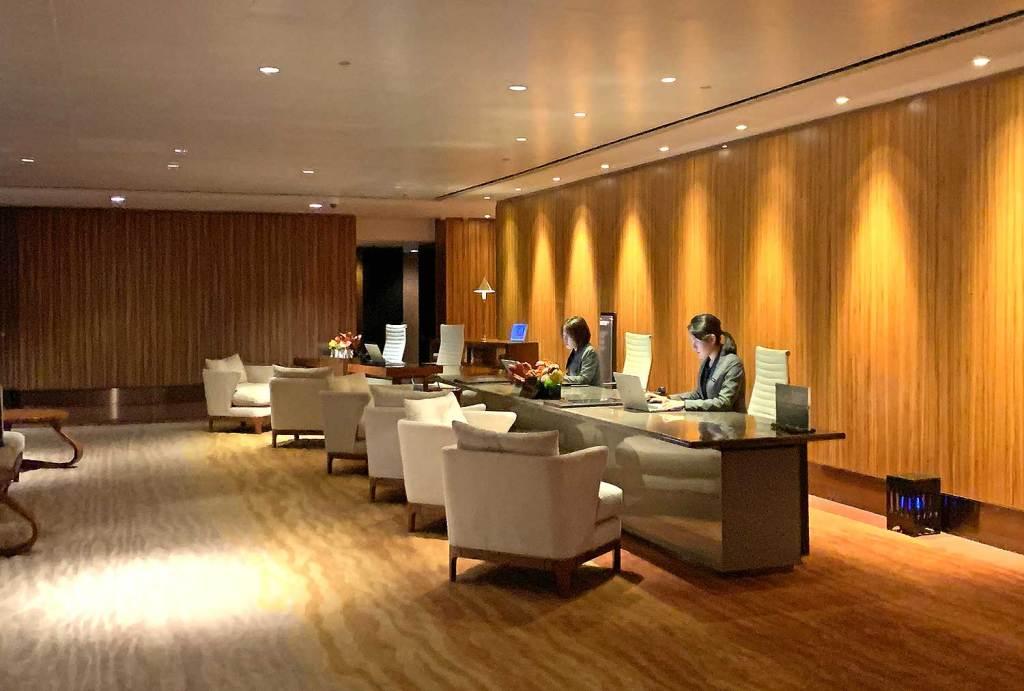 recepção Intercontinental; Hong Kong