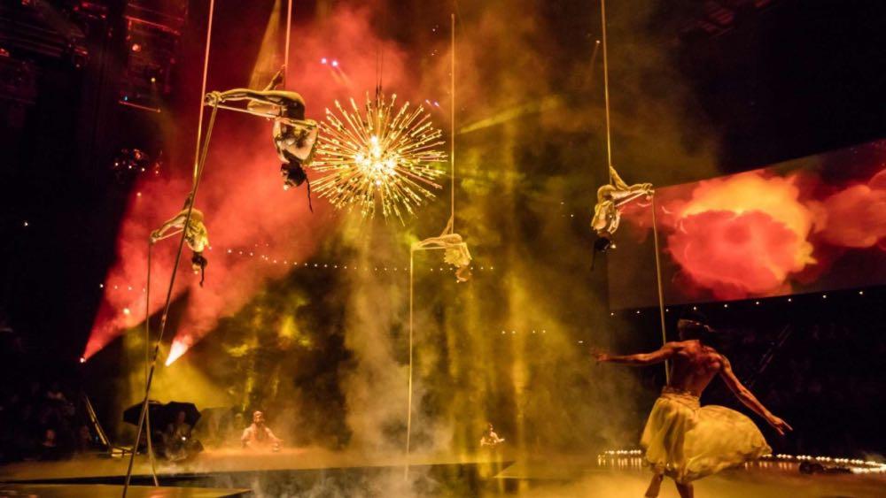 Here comes The Sun Beatles Cirque du Soleil Las Vegas