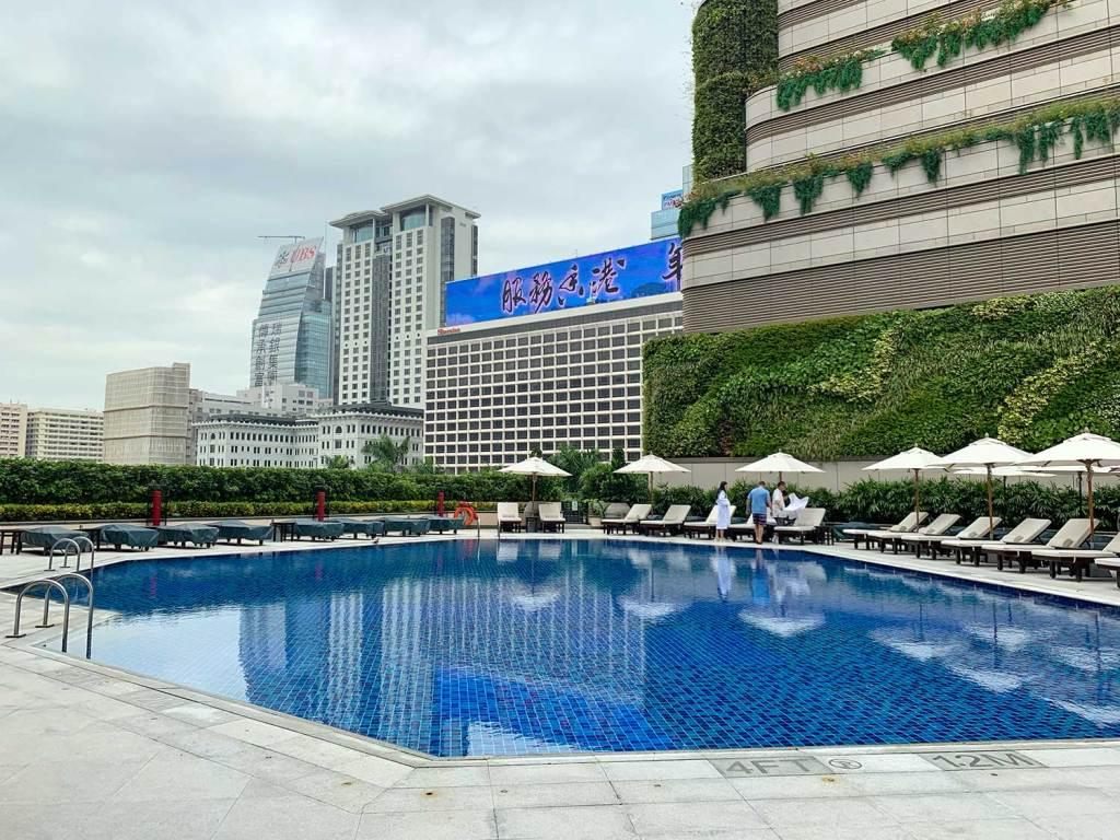 piscina Intercontinental Hotel Hong Kong