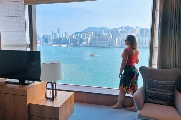 Review do Kerry Hotel Hong Kong, um hotel Shangri-la