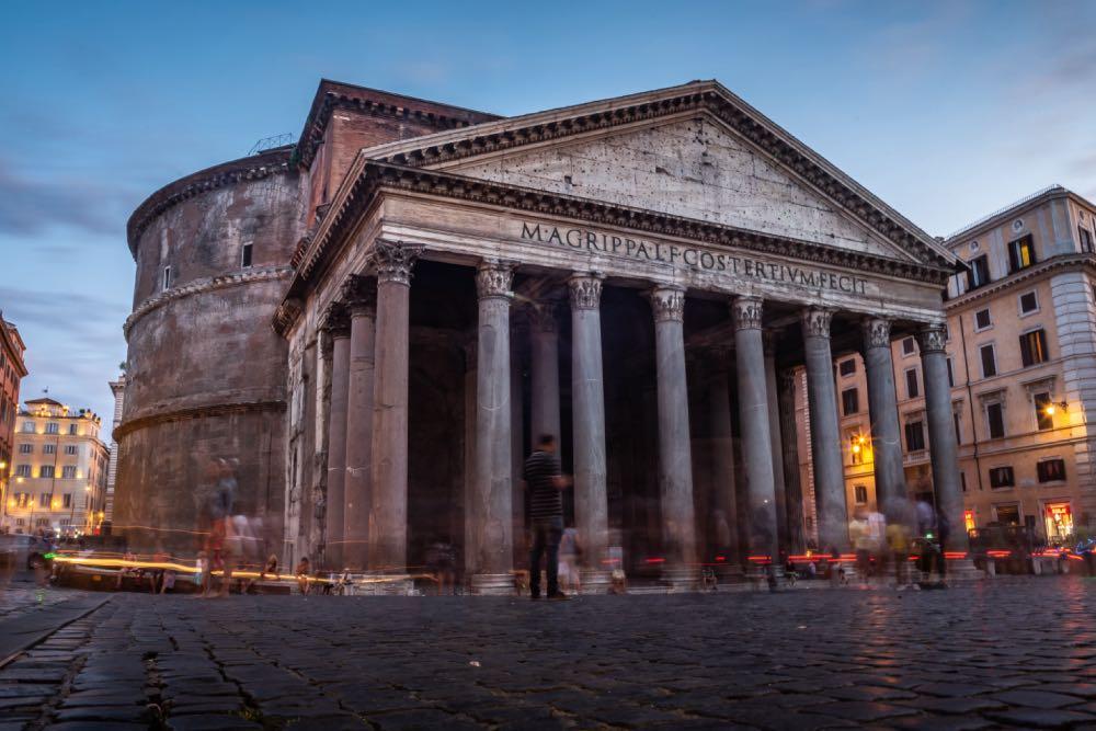 Panteão - principais atrações de roma