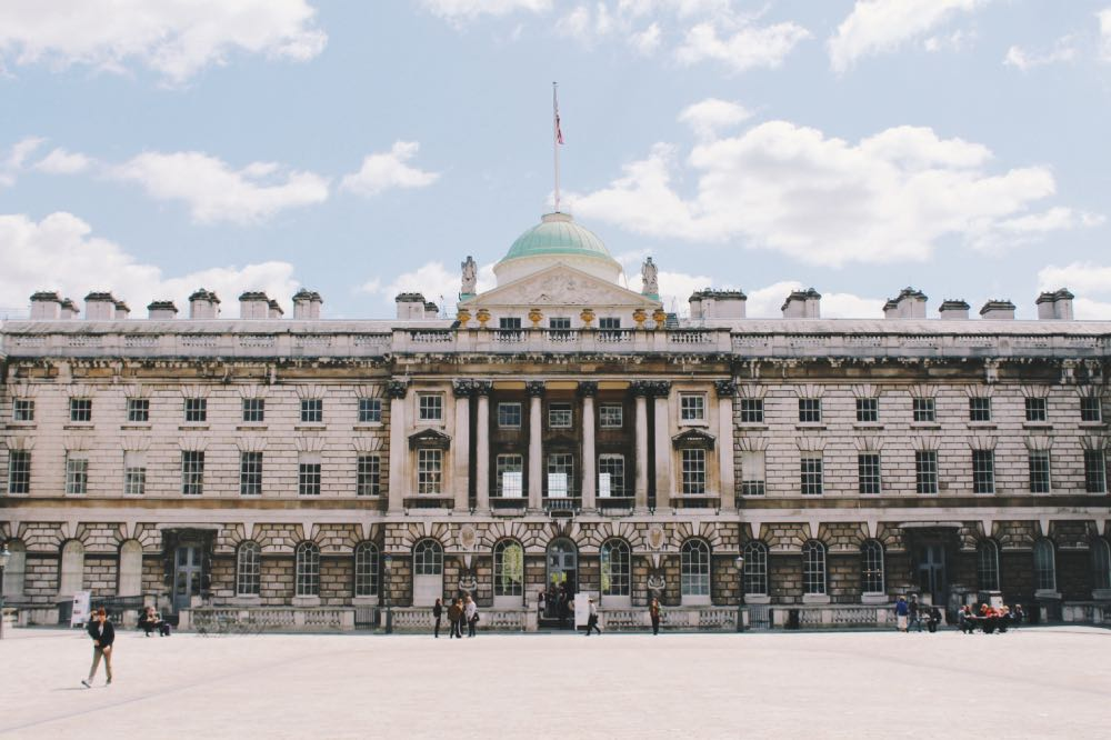 Somerset House - Londres no Natal