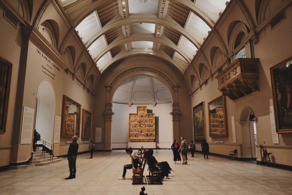 Victoria Albert - museu gratuito londres-min