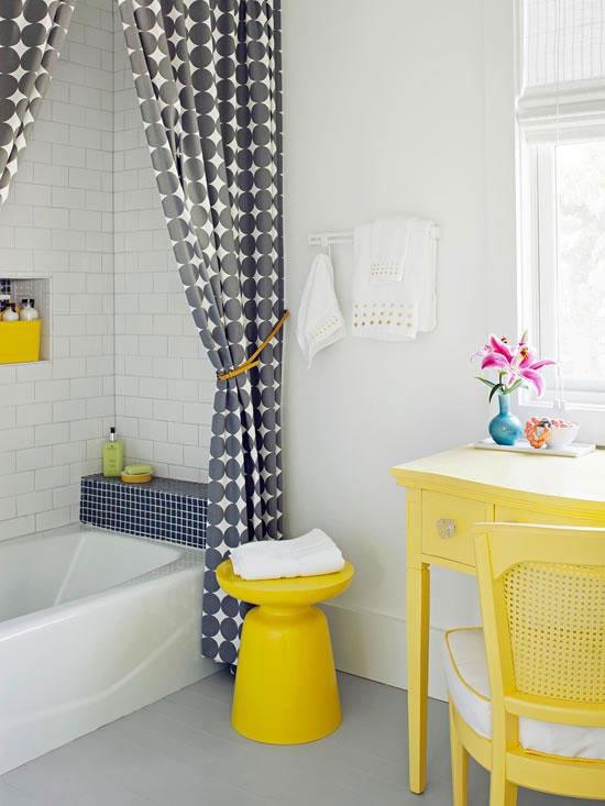 Yellow And Grey Bathroom Ideas