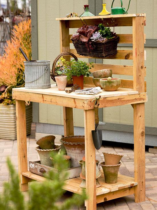 Ideas Para Una Mesa De Trabajo De Jardiner 237 A