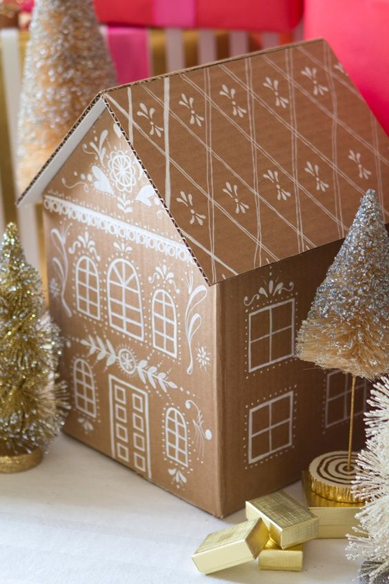 Prepara La Decoracin De Navidad Reciclando Cajas