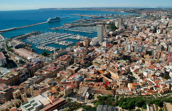 images of the city of Alicante