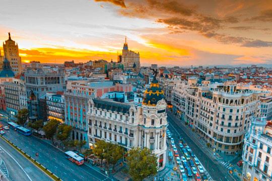 imágenes de la ciudad de Madrid