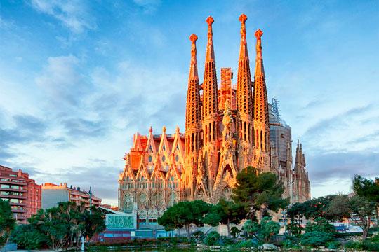 images de la ville de barcelona