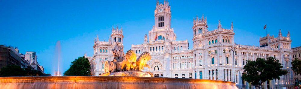 images de la ville de sl-Madrid