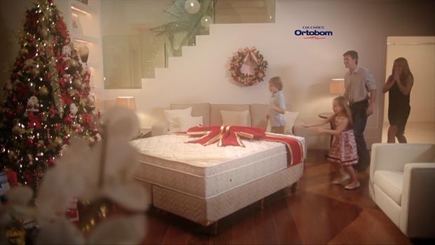 Campanha Natal Ortobom 2014