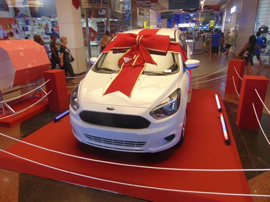São Gonçalo Shopping_Sorteio Novo Ford Ka_02