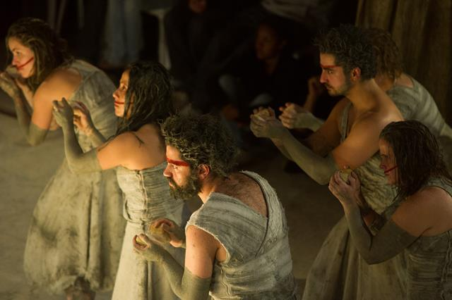 """Teatro"" ""Prometheus: a tragedia de fogo"""
