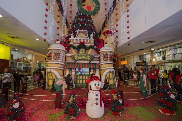 06.São Gonçalo Shopping_A Vila do Papai Noel