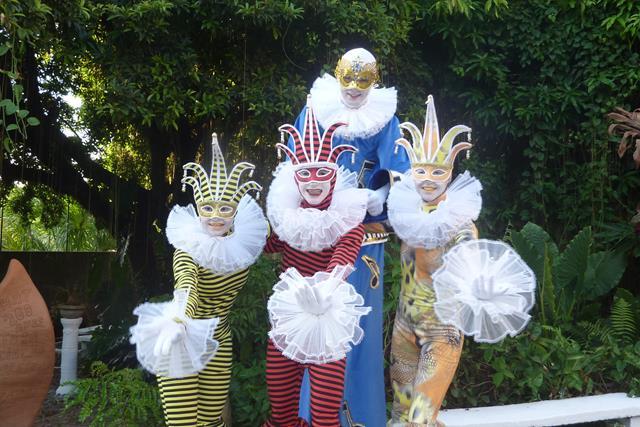 Circo de La Costa - atração da Parada Olímpica