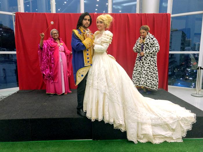 Princesa e a Fada Madrinha