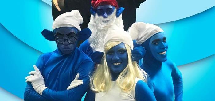 Tudo Azul -Smurfs
