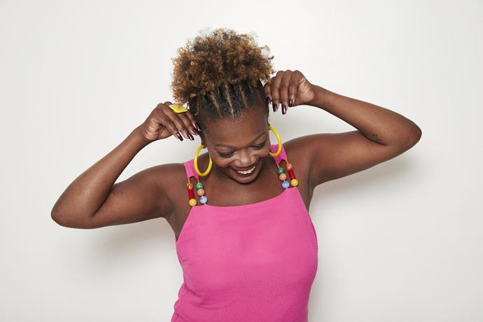 4 - Afro puff torcidinho Beleza Natural - foto Guto Costa