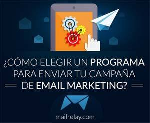 Elegir programa email marketing
