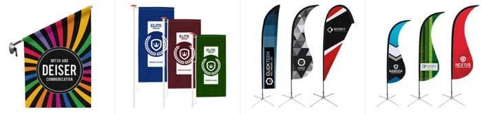 Imprenta online banderas