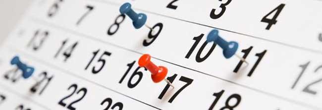 Mejor calendario publicación Newsletter