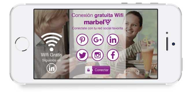 Conexión gratuita Marbel Wifi