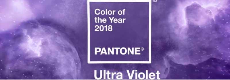 Ultravioleta Pantone