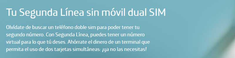 Ventajas número virtual Movistar