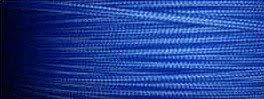 Cable textil azul