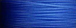 Cable textil azul