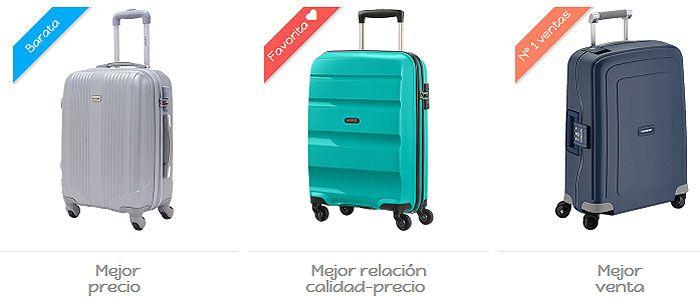 Comparativa maletas de viaje