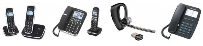 Auriculares teléfono