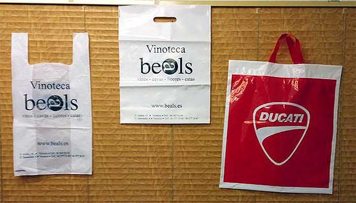 Bolsas personalizadas de plástico