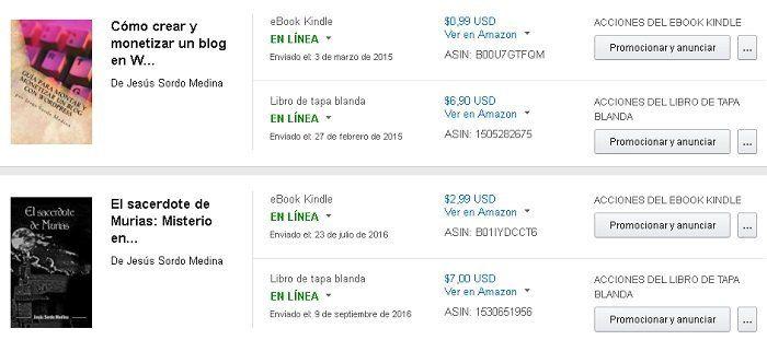 Autopublicar en Amazon
