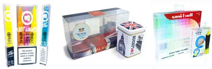 Packaging transparente