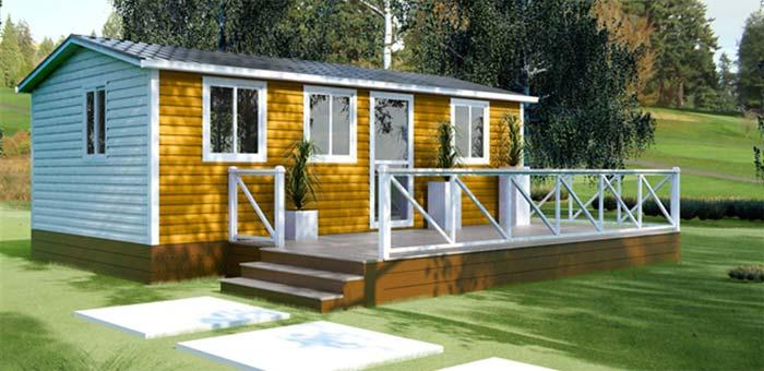 Casas de madera: una opción ecológica