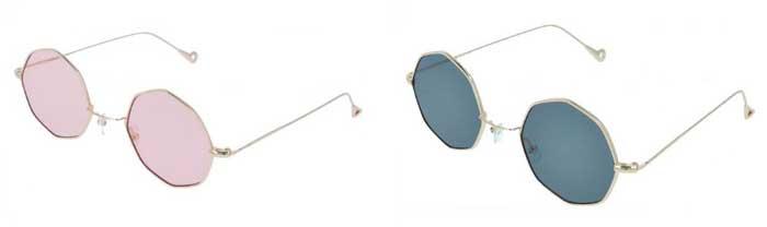 Gafas octogonales Vintage