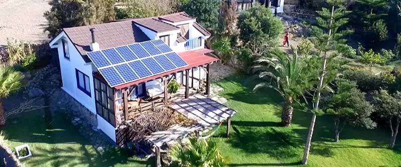 Paneles fotovoltáicos casas