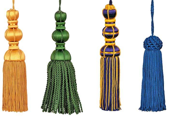 Borlas ornamentales