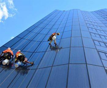 Servicios limpieza fachadas