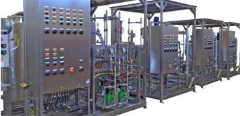 Sistemas de tratamiento de fluidos