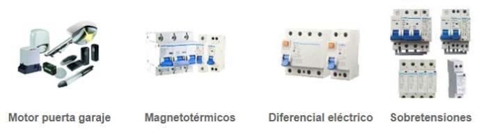 Venta material eléctrico online