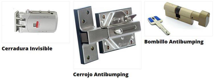 Cerraduras antibumping