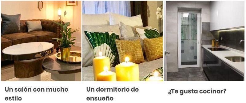 Ejemplos de trabajos diseño de interiores