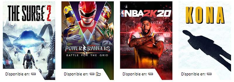 Xbox juegos para consola