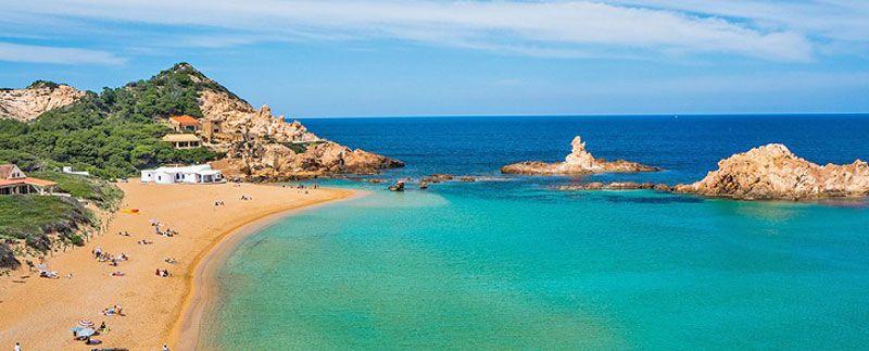 Calas y playas de Menorca