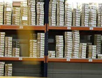 Colocación de productos en almacén