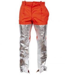 Pantalones aluminizados