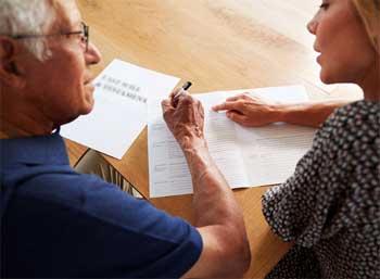 Asesoramiento para redactar un testamento