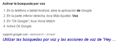 Extractos Google Serps